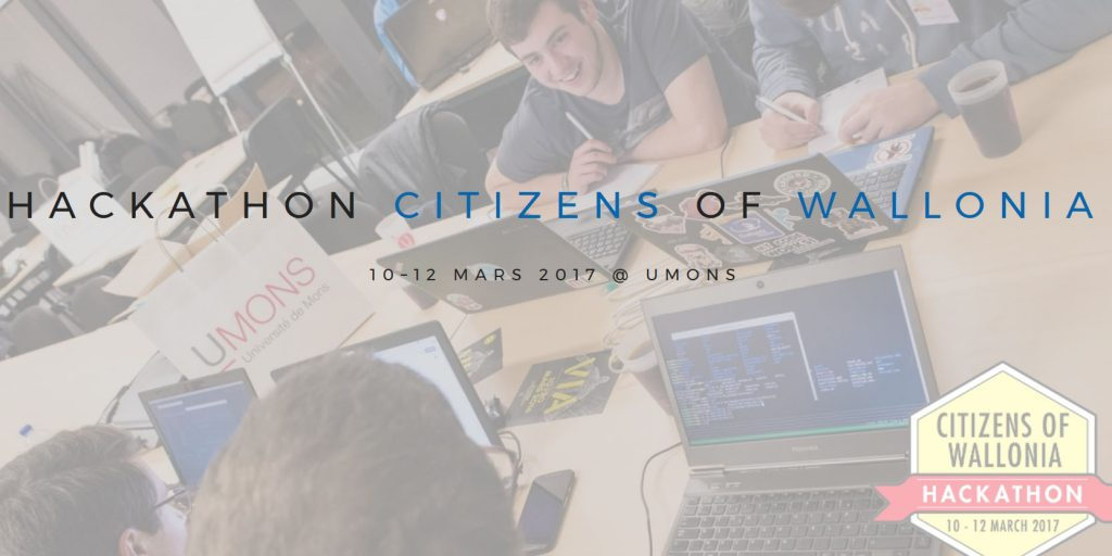 Citizens of wallonia Hackathon 2017