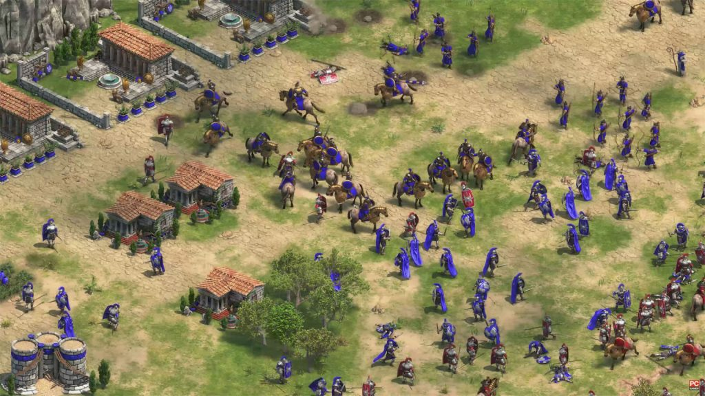 Capture d'écran de Age of Empires Edfinitive Edition.