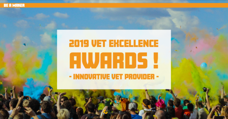 Technobel aux 2019 VET Excellence Awards !