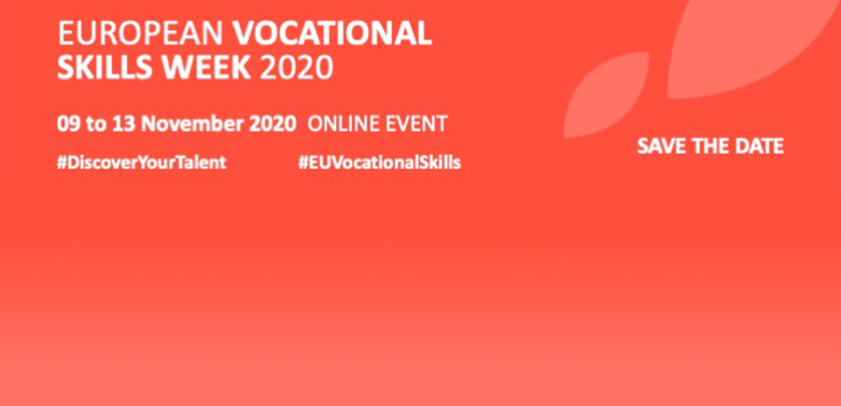 "Technobel au coeur de la ""European Vocational Skills Week 2020"""